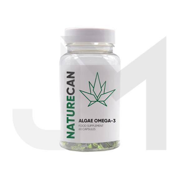 Naturecan Algae Omega-3 Capsules - 60 Caps