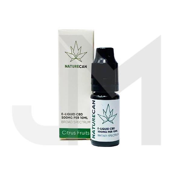 Naturecan 500mg CBD E-Liquid 10ml (80VG/20PG)