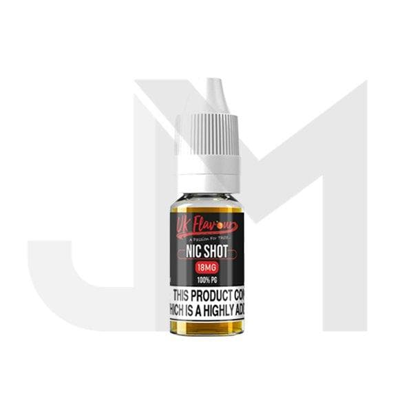 UK Flavour Nic Shot 18mg 10ml (100PG)