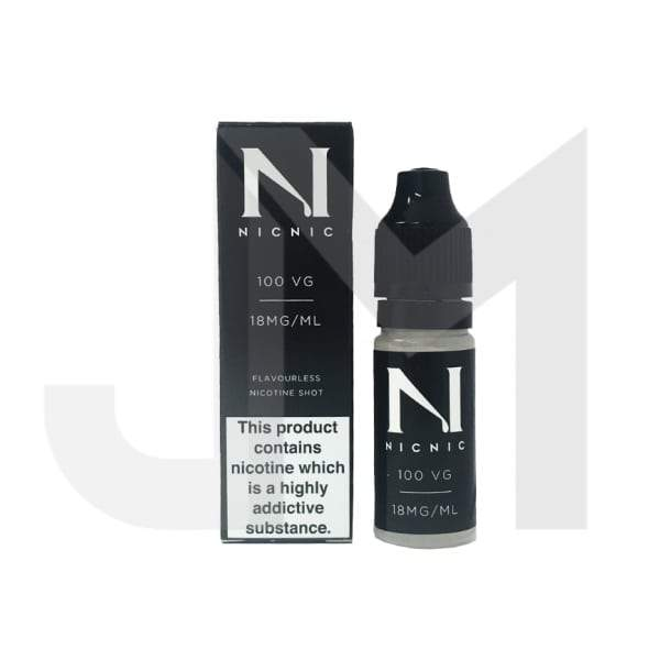 NIC NIC 18mg Nicotine Shot 10ml 100VG