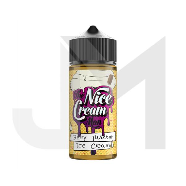 The Nice Cream Man 100ml Shortfill 0mg (70VG/30PG)