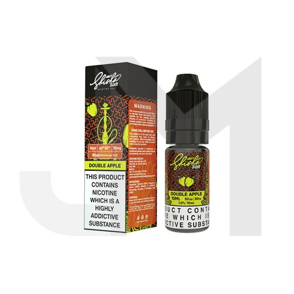 Nasty Shisha Salt 20mg 10ML Flavoured Nic Salt (50VG/50PG)