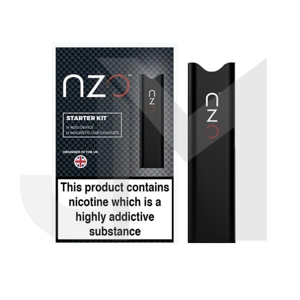 NZO & ION Pure CBD 250mg CBD Cartridges with Device (optional)