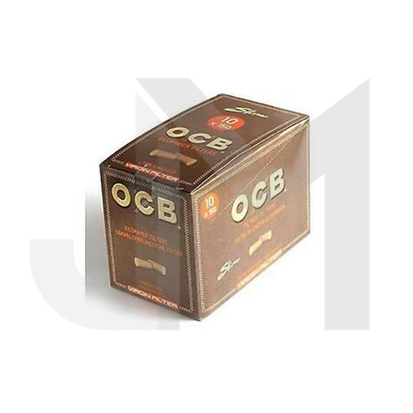 10 x 150 OCB Virgin Bagged Filters
