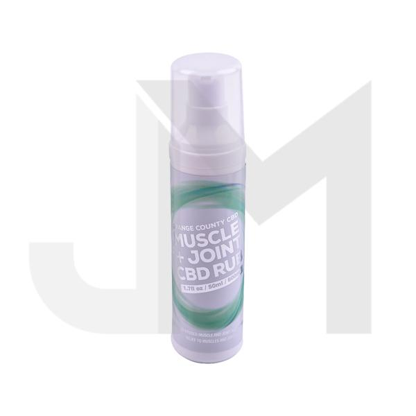 Orange County CBD 800mg Muscle & Joint Gel 50ml