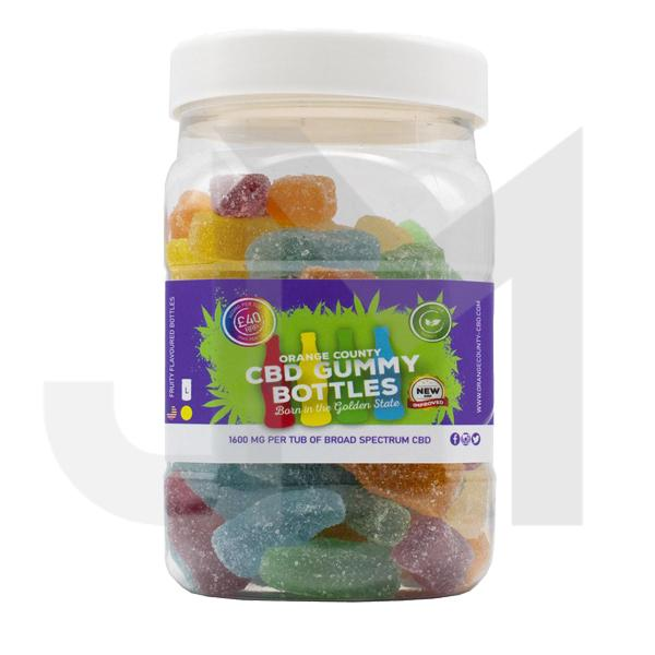 Orange County CBD 1600mg Gummies - Large Pack