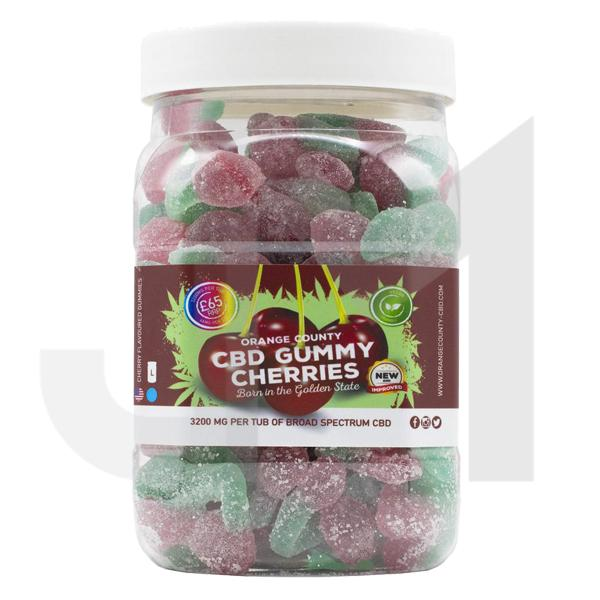 Orange County CBD 3200mg Gummies - Large Pack