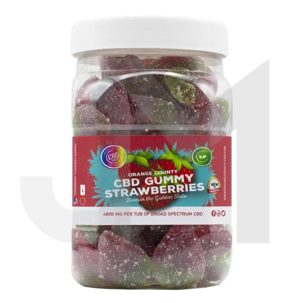 Orange County CBD 4800mg Gummies - Large Pack