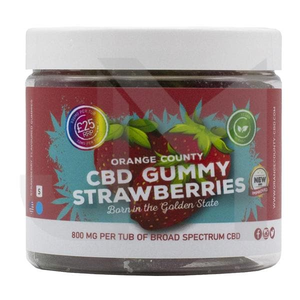 Orange County CBD 800mg Gummies - Small Pack