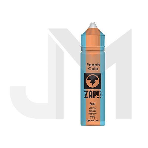 Zap! Juice Vintage Cola 0mg 50ml Shortfill (Free ZAP 18mg Nic Salt)