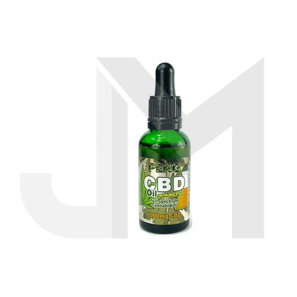 Peng CBD Full Spectrum MCT 1000MG 30ML Oil