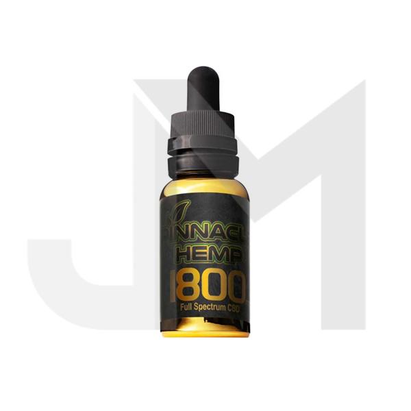 Pinnacle Hemp Full Spectrum Oil 1800mg CBD 30ml