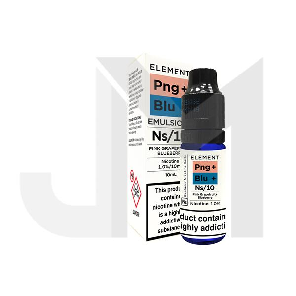20MG Element Designer 10ML Flavoured Nic Salts