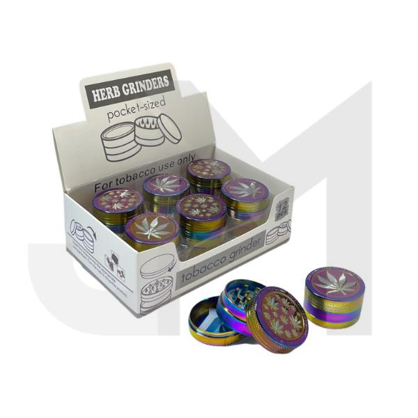 3 Parts Small Metal Rainbow Grinder - DK5781-3