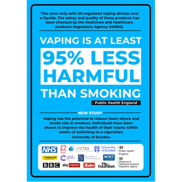 SAFE VAPING! - FREE A2 Posters for all.