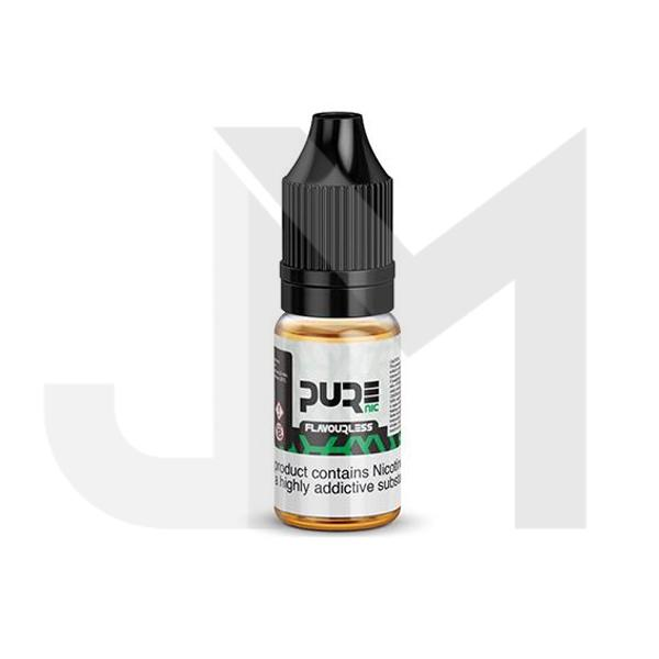 18mg Pure Nic Flavourless Nicotine Shot 10ml  100VG