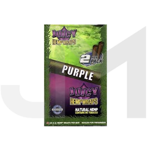 Juicy Natural Hemp Wraps - 2 Per pack