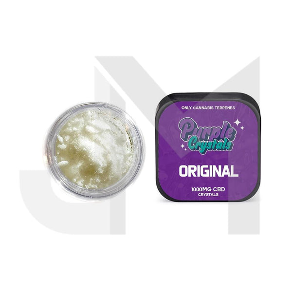 Purple Crystals by Purple Dank 1000mg CBD Crystals - Original Terpsolate