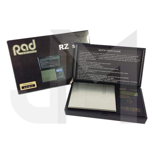 Rad RZ 0.1g - 500g Professional Digital Mini Scale (RZ-500)