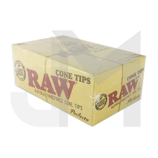 24 Raw Classic Perfecto Cone Tips