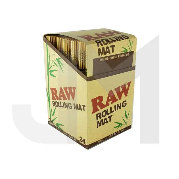 RAW Natural Bamboo Tobacco Rolling Mats