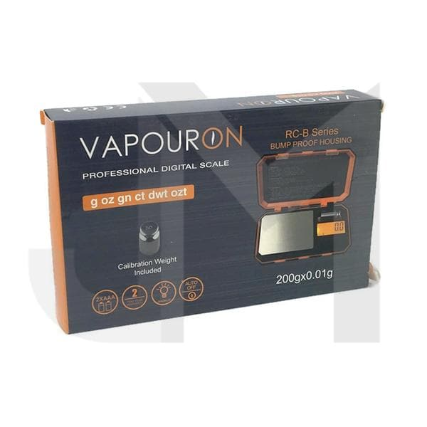 Vapouron RC-B Series Pro Digital 0.01g - 200g Bump Proof Scale