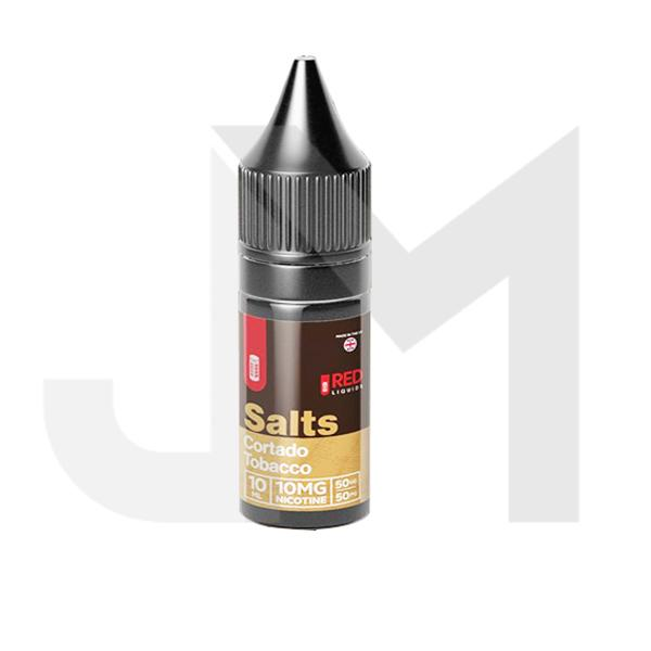 10mg Red Tobacco 10ml Flavoured Nic Salt (50VG/50PG)