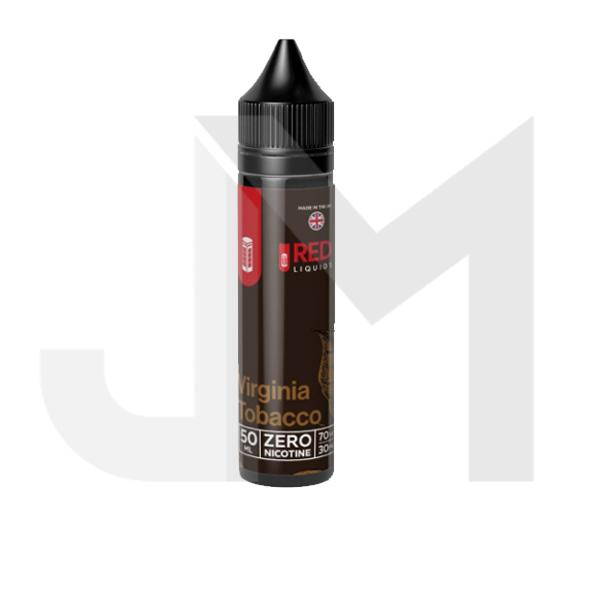 Red Tobacco 50ml Shortfill E-Liquids 0mg (70VG/30PG)