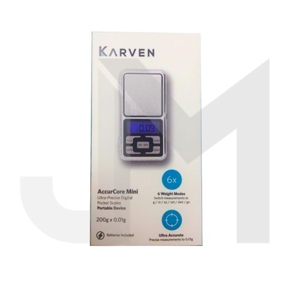 Karven Ultra-Precise Accurcore Mini Digital Scale 0.01g - 200g