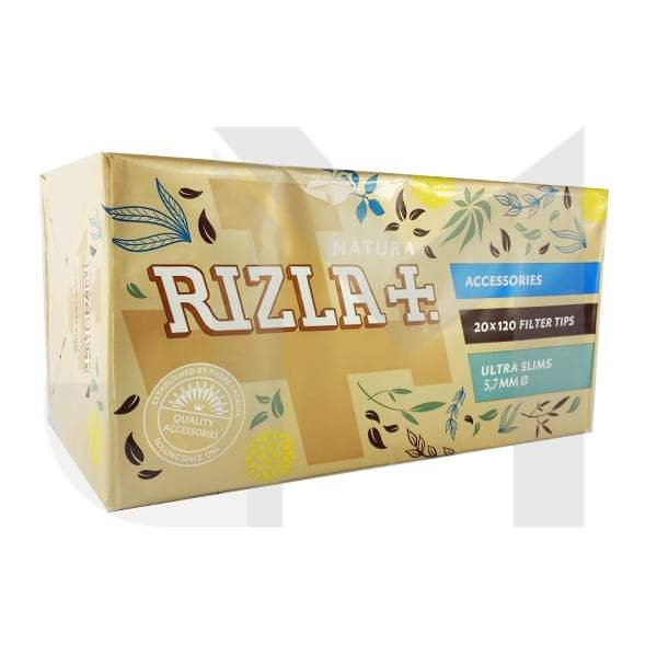 20 Pack 5.7mm Natura Rizla Ultra Slim Filter Tips