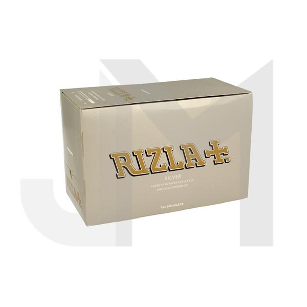 100 Silver Regular Rizla Rolling Papers