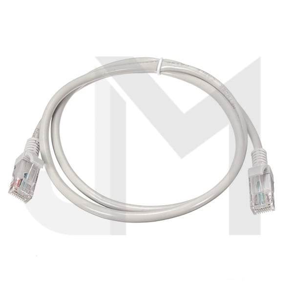 CAT 5E  Ethernet RJ45 White Cable