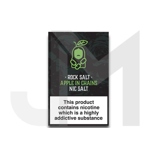 Rock Salt Nic Salt By Alfa Labs 20MG 10ml (50PG/50VG)