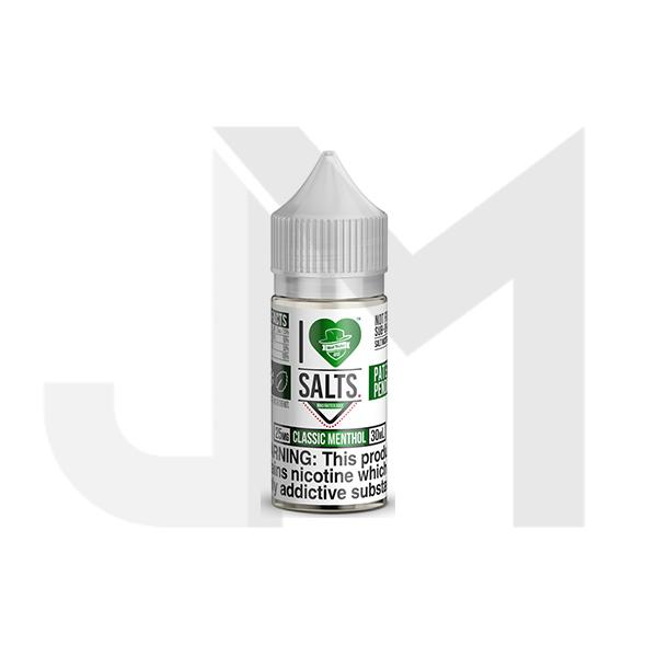 20MG I Love Salts by Matter Hatter Juice 10ML Flavoured Nic Salts (50VG/50PG)