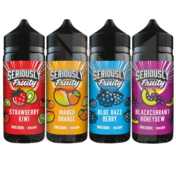 Seriously Fruity by Doozy Vape 100ml Shortfill 0mg (70VG/30PG)