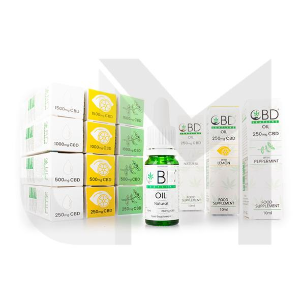 CBD Leafline Starter Pack Box 12 (1 of Each Strength and Flavour)