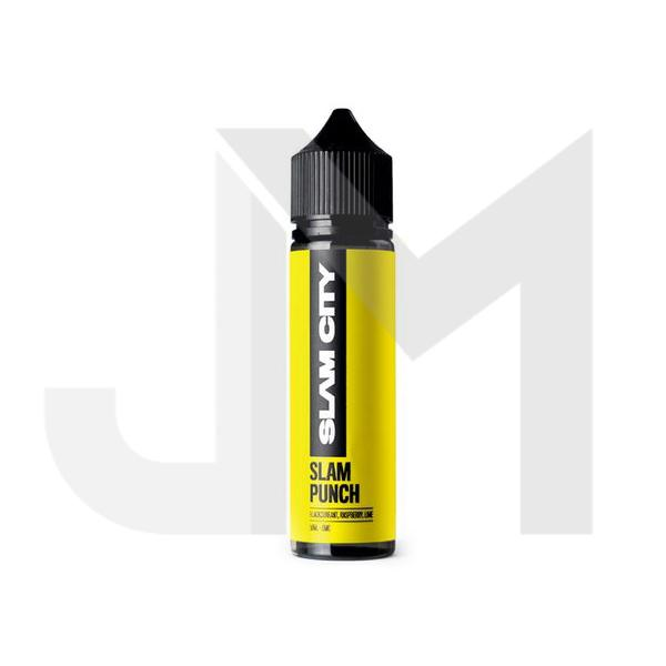 Slam City Vapes 0mg 50ml Shortfill (70VG/30PG)
