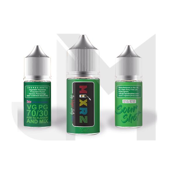 MIXRZ By Vape Duty Free 0mg 10ml (70VG/30PG)