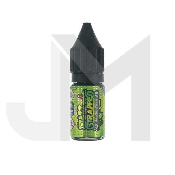 10mg Strapped 10ml Flavoured Nic Salt (60VG/40PG)