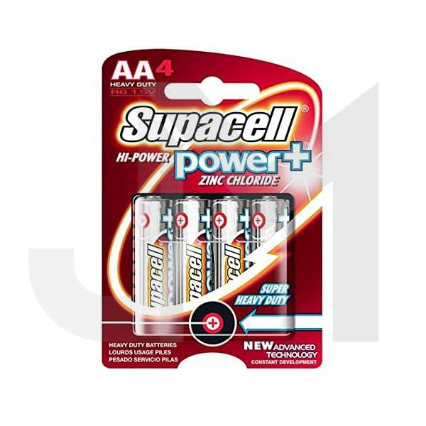 Supacell Power+ R6 1.5V AA Battery