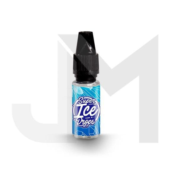 Super Ice Drops 0mg 10ml E-Liquid