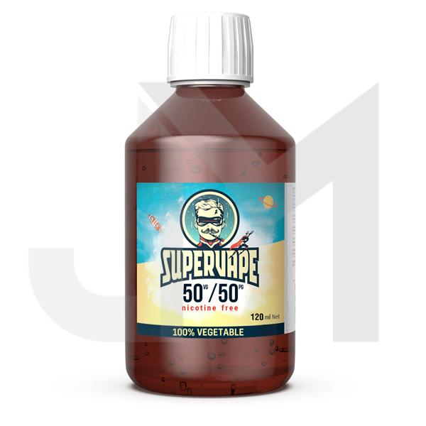 SuperVape by Lips Liquid Bases PG/VG/AG 120ml