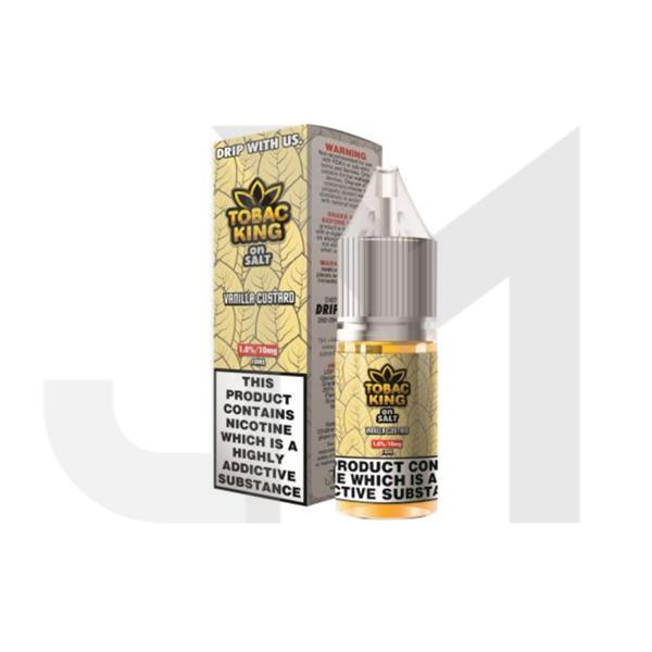 20MG Tobac King On Salt 10ML Flavoured Nic Salt (50VG/50PG)