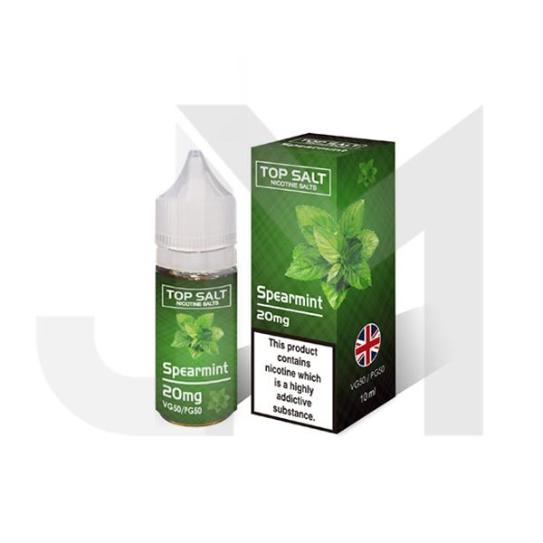 10mg Top Salt Fruit Flavour Nic Salts by A-Steam 10ml (50VG/50PG)