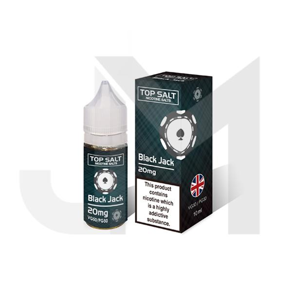 20mg Top Salt Fruit Flavour Nic Salts by A-Steam 10ml (50VG/50PG)