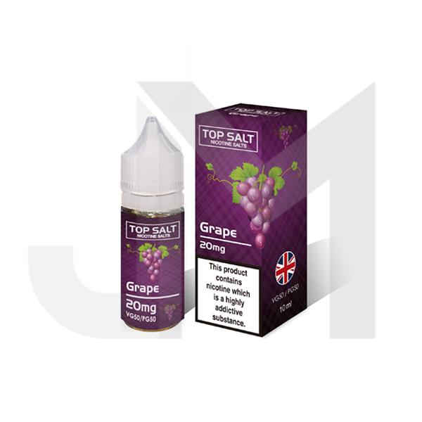 10mg Top Salt Fruit Flavour Nic Salts 10ml (50VG/50PG)