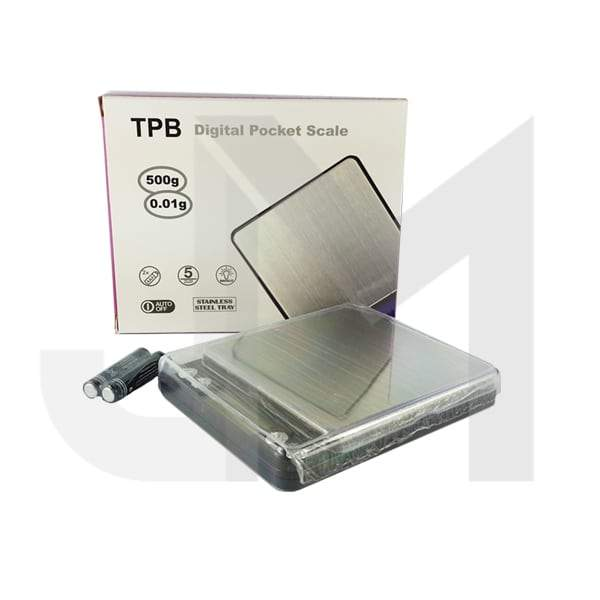 TPB Digital Pocket Scale 0.01g - 500g (TPB 500 VP)