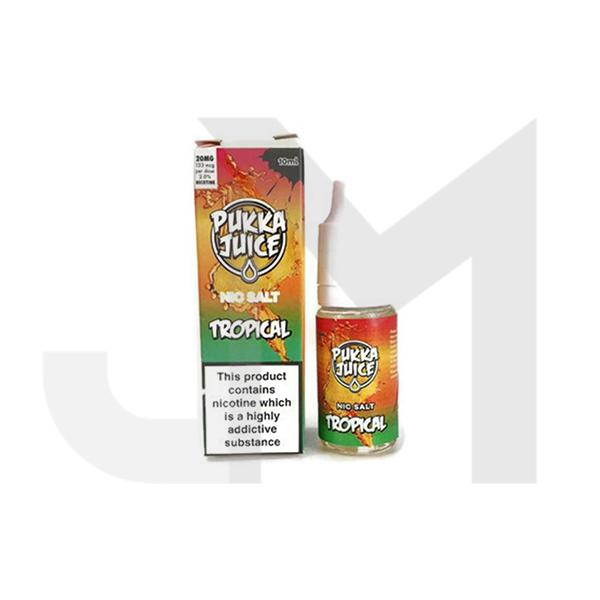 20MG Pukka Juice 10ML Flavoured Nic Salt (50VG/50PG)