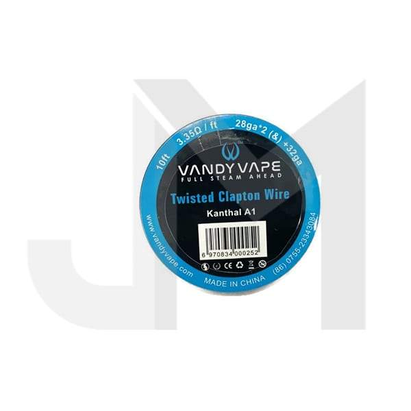 Vandy Vape Twisted Clapton Kanthal KA1 Wire 28ga*2 (&) +32ga
