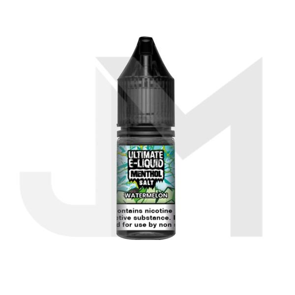 20mg Ultimate E-liquid Menthol Nic Salts 10ml (50VG/50PG)